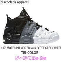 NIKE AIR MORE UPTEMPO ( Black / Cool Grey / TRI-COLOR )