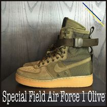 ★【NIKE】US8 26cm Special Field Air Force 1 Olive オリーブ