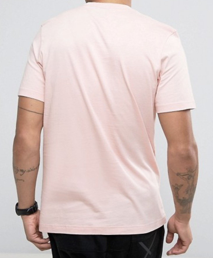 adidas Originals Trefoil T-Shirt In Pink BQ1814★国内発送
