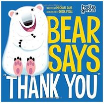 "絵本・書籍 【US◇絵本】BEAR SAYS ""THANK YOU"""