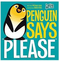 "絵本・書籍 【US◇絵本】PENGUIN SAYS  ""PLEASE"""