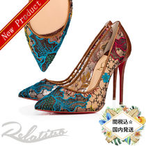 関税・送料込【Christian Louboutin】Follies Lace  /  100mm
