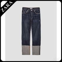 ★ZARA★ザラ  THE VINTAGE STRAIGHT JEANS IN SAMURAI BLUE