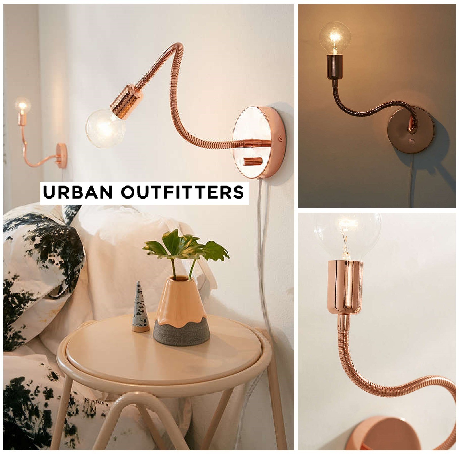 Urban Outfitters☆Gooseneck Sconce☆