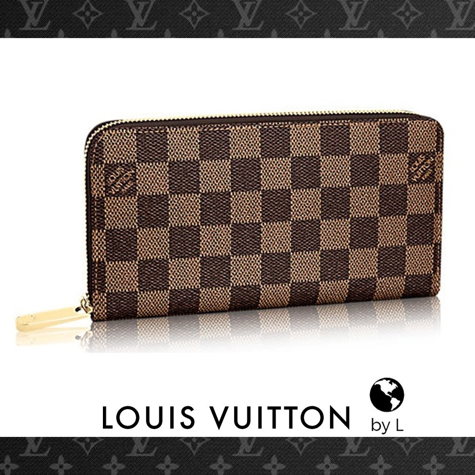 Louis Vuitton【2-5日着】ジッピーウォレット ダミエ*国内発送*