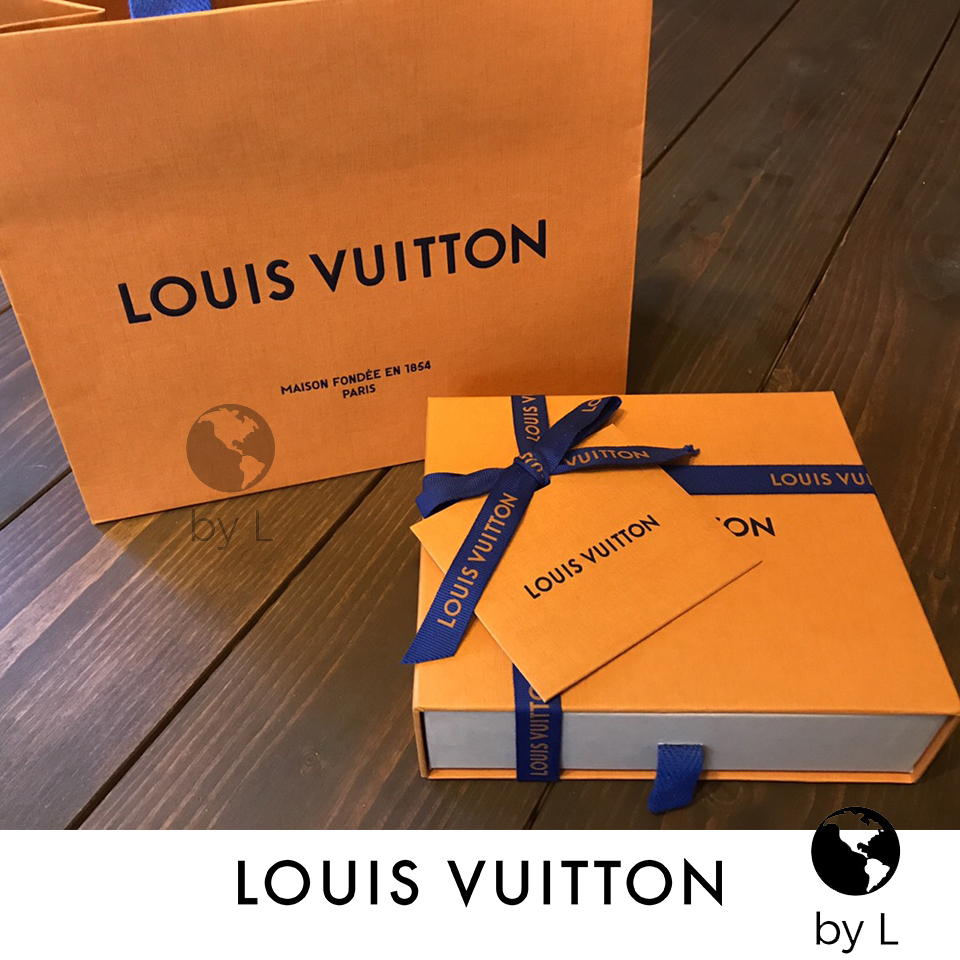 Louis Vuitton【2-5日着】ジッピーウォレット ダミエ アズール