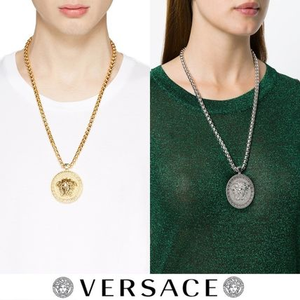 2017-18AW Versace Large Round Medusa Chain Necklace 関税込