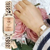 COACH Ludlow Rose Gold-Tone Bracelet Watch 14502723