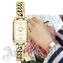 ヤマト便・COACH Ludlow Gold-Tone Bracelet Watch 14502721