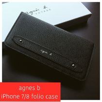 Agnes b / iPhone 7 Case / 'agnes b' 手帳型ケース