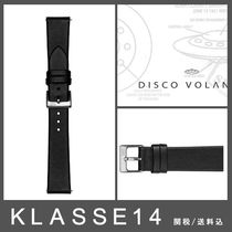 【KLASSE14】VOLARE BLACK STRAP WITH SILVER BUCKLE♪36mm/42mm