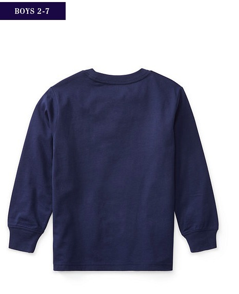 新作♪国内発送 6色 LONG SLEEVE T-SHIRT boys 2~7