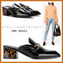 関税込♪Stella McCartney☆新作 Backless Loafers ブラック☆