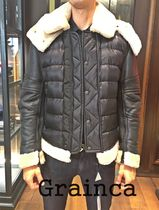 MONCLER★17/18AW レザー&ナイロン 異素材MIX TANCREDE★関税込