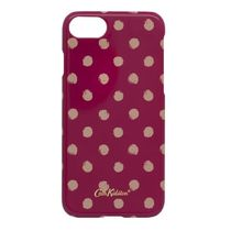 かわいい☆Cath Kidston IPHONE 7 CASE MINI SMUDGE SPOT CERISE