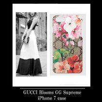 GUCCI Blooms GG Supreme iPhone 7 case (アイフォン7ケース)
