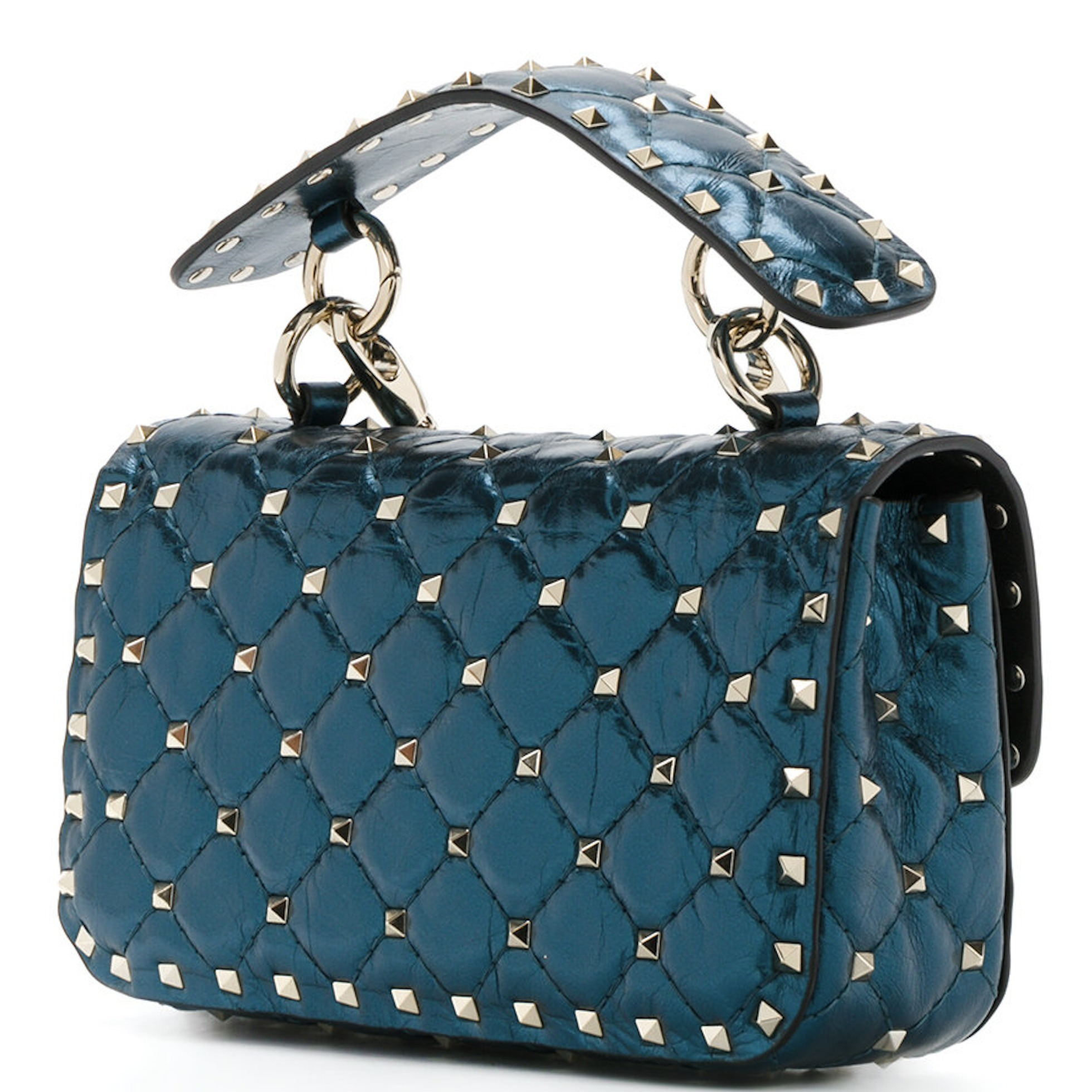 17-18AW V852 ROCKSTUD SPIKE SMALL CHAIN BAG