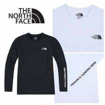 THE NORTH FACE〜MENLO L/S R/TEE 2色 シンプルな長袖Tシャツ