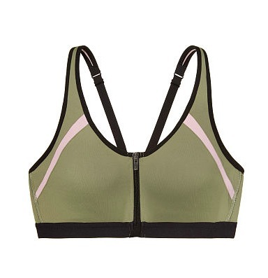 KNOCKOUT BY VICTORIA SPORT FRONT-CLOSE SPORT BRA