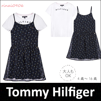 *Tommy Hilfiger*大人もOK☆花柄ワンピースセット☆4-16Y