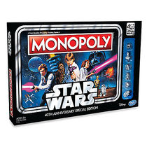 Stars Wars 40th Anniversary Special Edition Monopoly Game