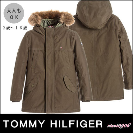 *Tommy Hilfiger*大人もOK☆2in1カーキパーカーコート☆2-16Y