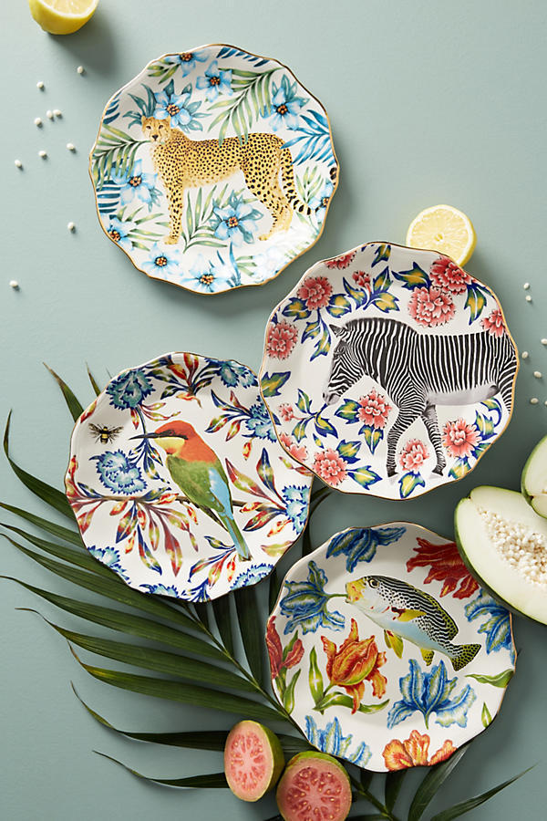 18AW☆最安値*関送込【Anthro】Nature Table Dessert Plate 1枚