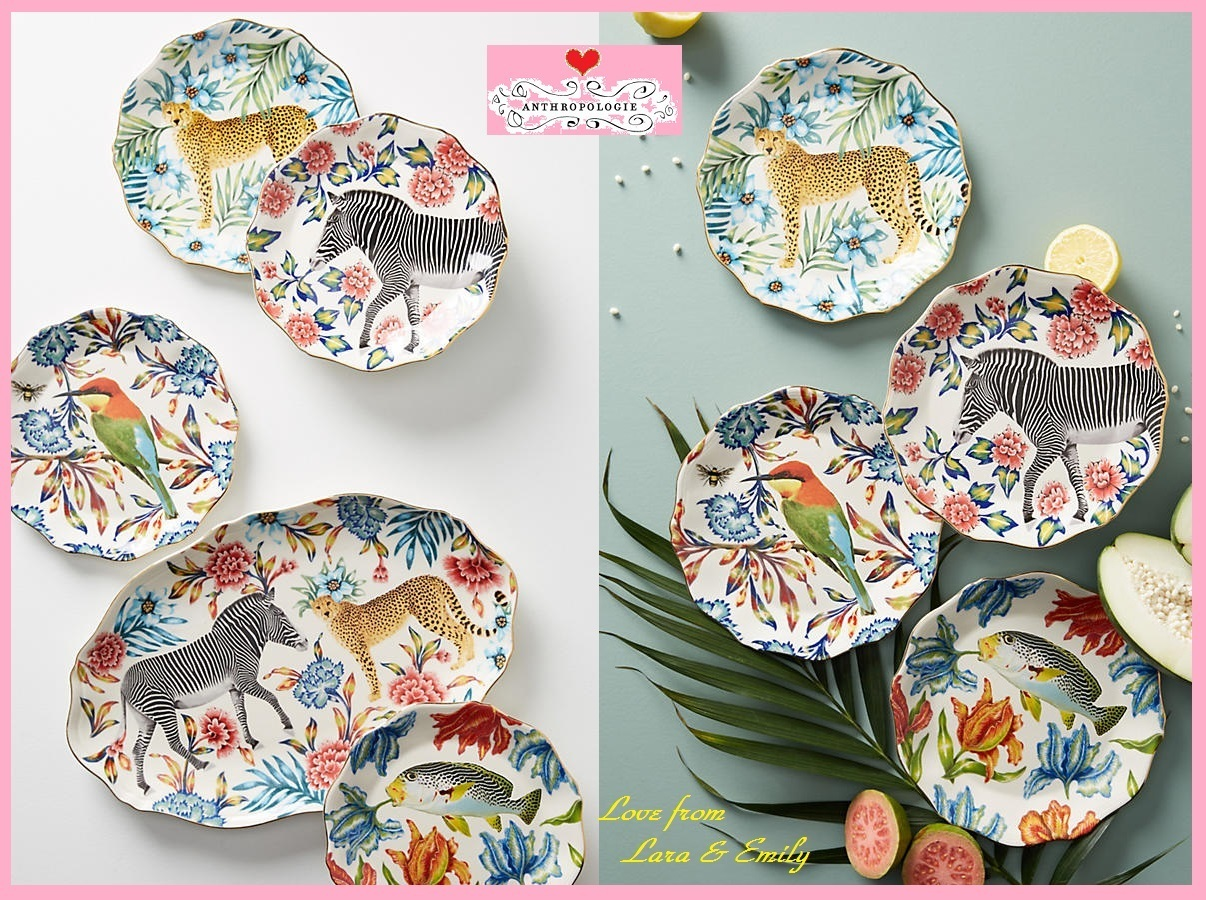 18AW☆最安値*関送込【Anthro】Nature Table Dessert Plate 2枚