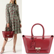 17-18AW V884 DEMILUNE SMALL DOUBLE HANDLE BAG