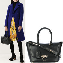 17-18AW V885 DEMILUNE SMALL DOUBLE HANDLE BAG