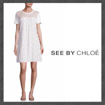 See by Chloe◆Tシャツワンピ◆Short Sleeve Tee Dress