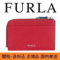 【FURLA】フルラ  Giove カードケース red 送料・関税込み