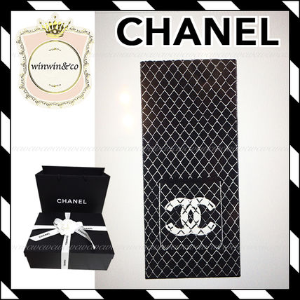 17AW【国内発送】CHANEL★ギフトに♪ 上品 ストール