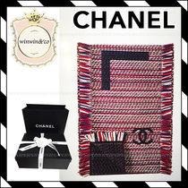 17AW【国内発送】CHANEL★ギフトに♪ 華やか ウール ストール
