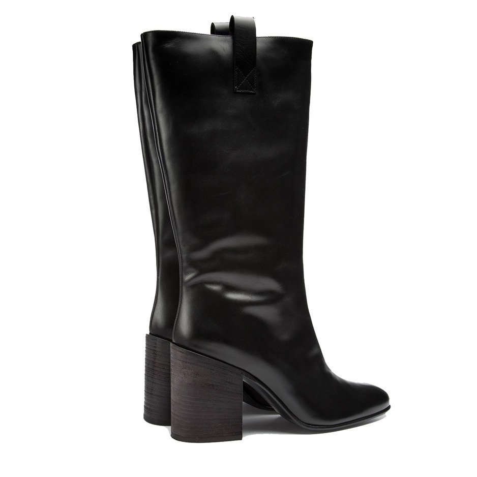 [Acne] Bamy high calf leather boots レザーロングブーツ2色
