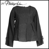 3.1 Phillip Lim★Top with Cotton and Silk