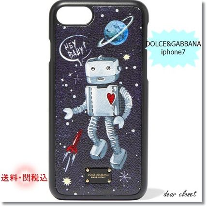 2017A/W新作★ DOLCE&GABBANA iphone7ケース 宇宙ロボット