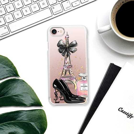 ☆Casetify☆ iPhoneクリアケース★PARIS TRENDS