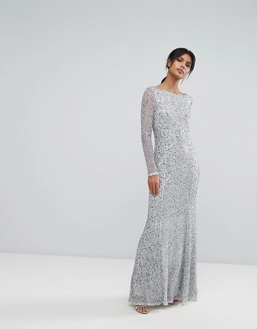 ASOS★French Connection★スパークルマキシドレス♪