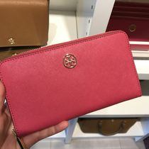 Tory Burch ROBINSON ZIP CONTINENTAL WALLET★ピンク