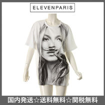 ELEVEN PARIS(イレブンパリ ) Tシャツ・カットソー 国内発送!ELEVEN PARIS  LIFE IS A JOKE ALMOSS TEE