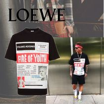 LOEWE T-Shirt Fire Of Youth Poster
