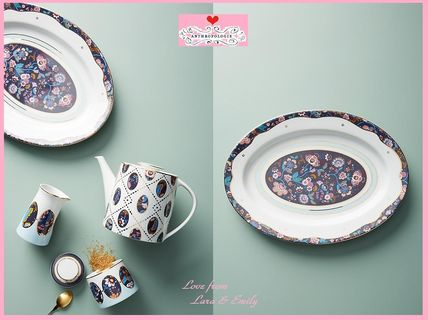 18AW☆最安値*関送込【Liberty×Anthro】Mabelle Floral Platter