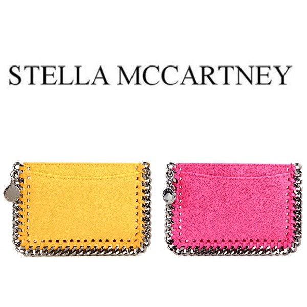 ☆STELLA MCCARTNEY☆_FALABELLA カード ホルダー 2色