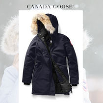 CANADA GOOSE Victoria Parka 美しくレディなAdmiral Blue