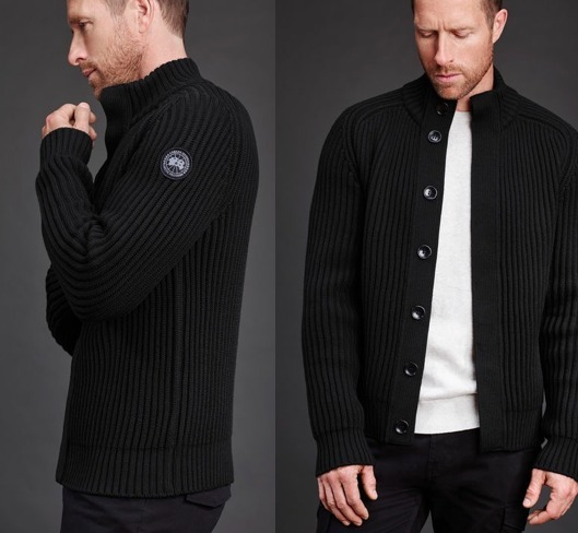 *CANADA GOOSE*17AW Black Label Silvertown Sweater 全3色