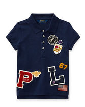 Patch-Embellished Cotton Polo