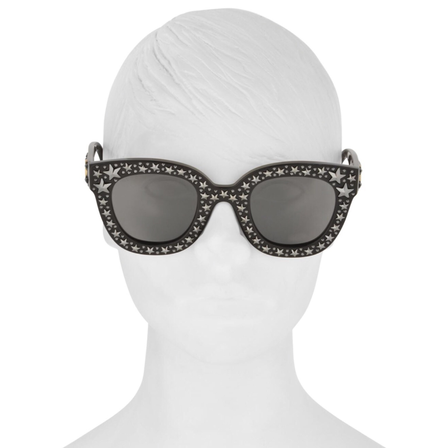 GUCCI STAR DETAIL CAT EYE SUNGLASSES 関税送料込