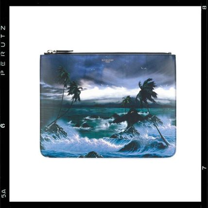 2017AW【Givenchy】Hawaii Print Clutch Bag
