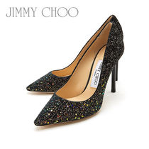 Jimmy Choo ROMY 100 IGD RAINBOW BLACK レディースパンプス